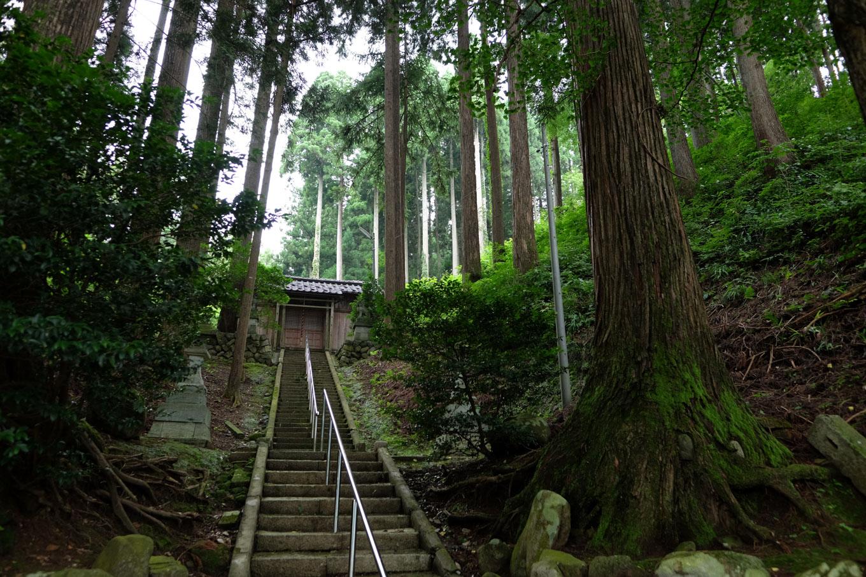 簸川神社。