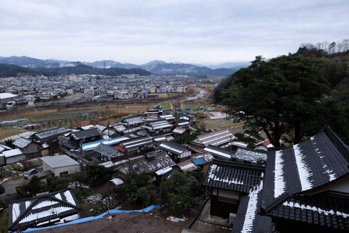 清龍寺高台からの眺め (FUJIFILM X-T1 + XF16mm F1.4R)