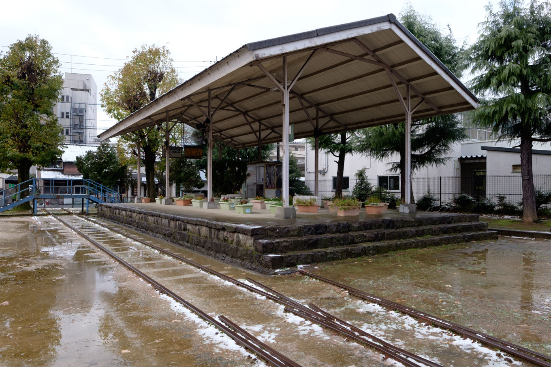 鉄道記念物公園。