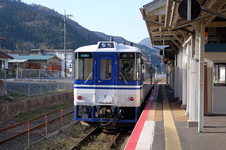 鳥取行き普通列車。
