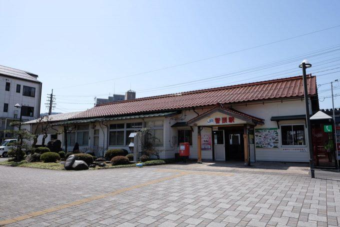 智頭駅舎 (FUJIFILM X-T1 + XF16mm F1.4R)