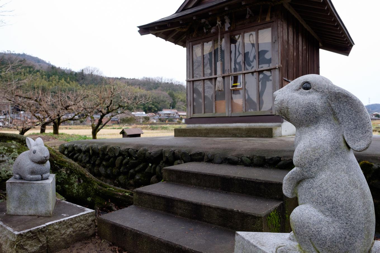 白兎神社。