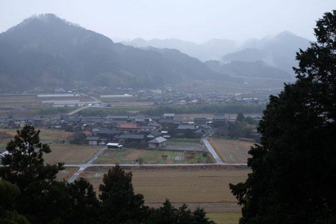 善南寺境内からの眺め (FUJIFILM X-T1 + XF35mm F1.4R)