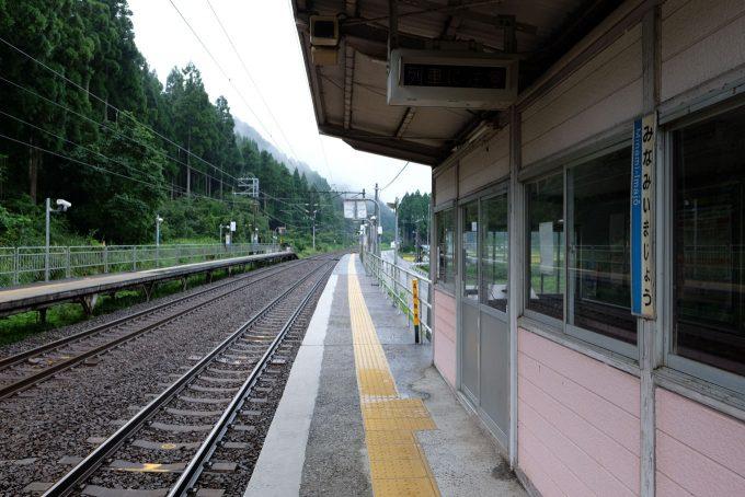 待合所前から敦賀方の眺め