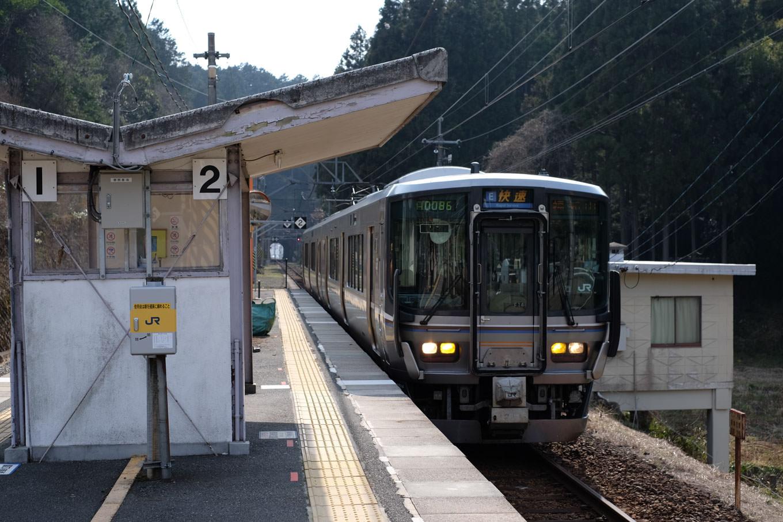 普通列車の福知山行き 1137M。