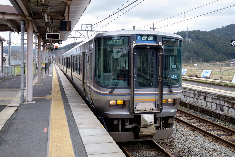 普通列車の福知山行き 1127M。