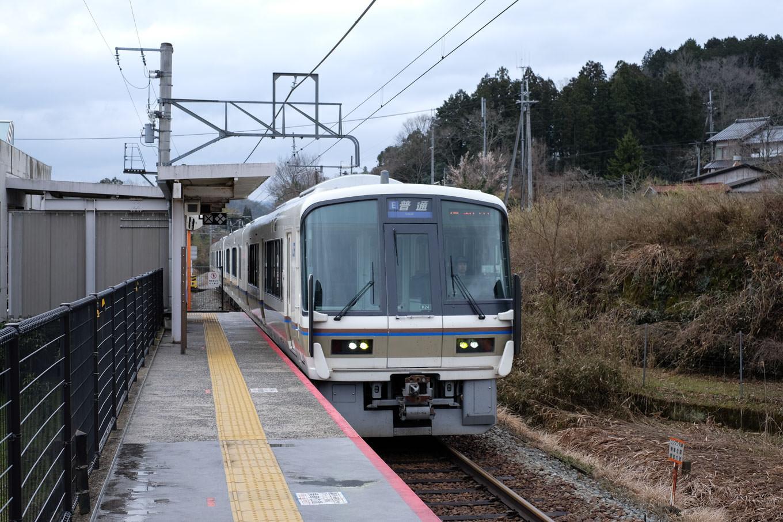 普通列車の福知山行き 231M。
