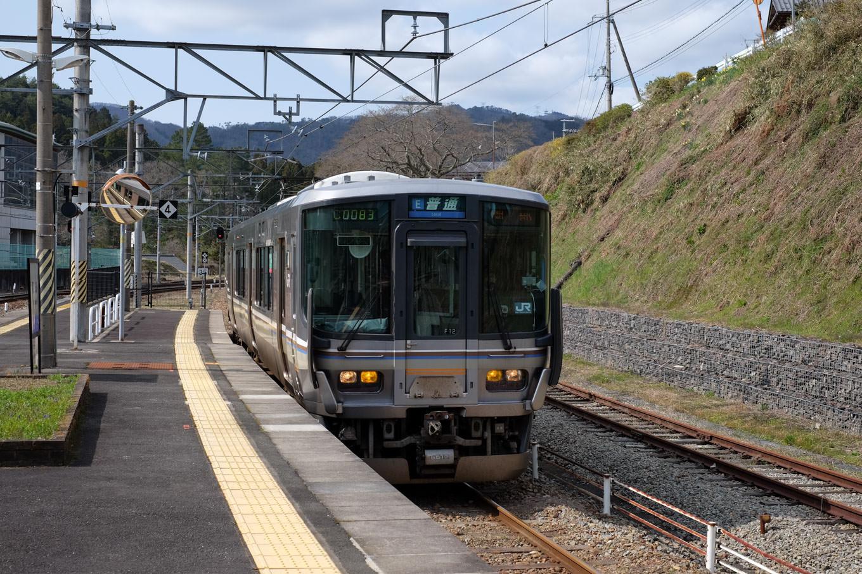 普通列車の園部行き 1140M。