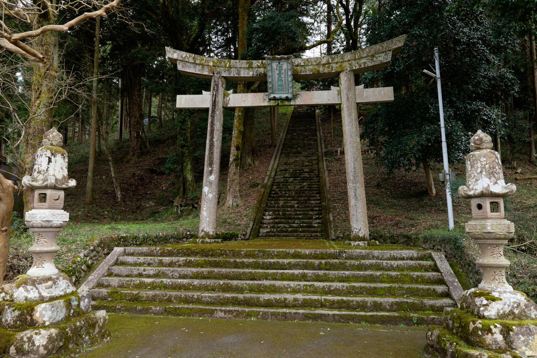 阿上三所神社。