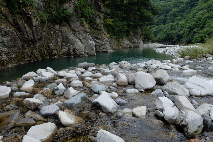 勝原園地の九頭竜川 (FUJIFILM X-T1 + XF16mm F1.4R)