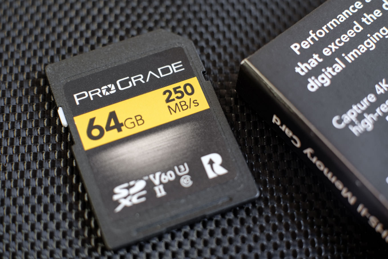ProGrade Digital SDカード V60