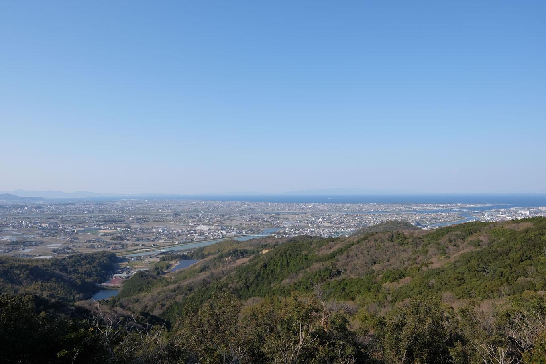 鍛治ヶ峰からの眺望。