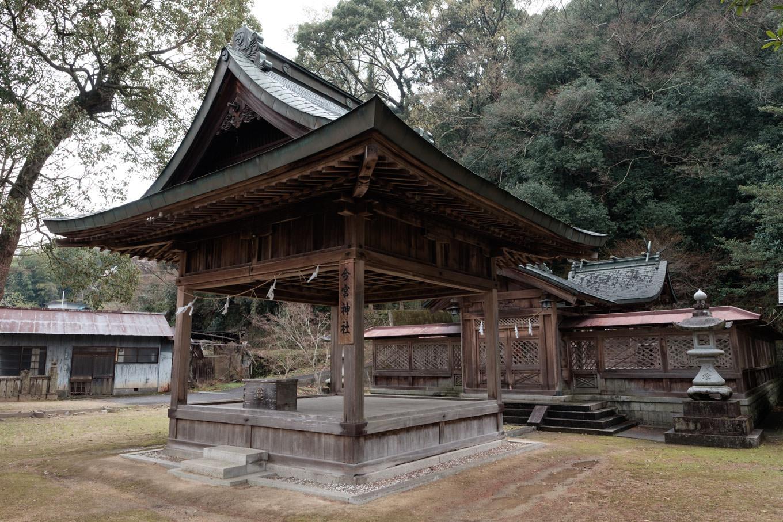 今宮神社の拝殿。