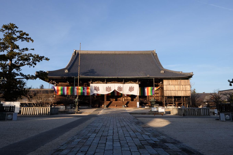専修寺の御影堂。