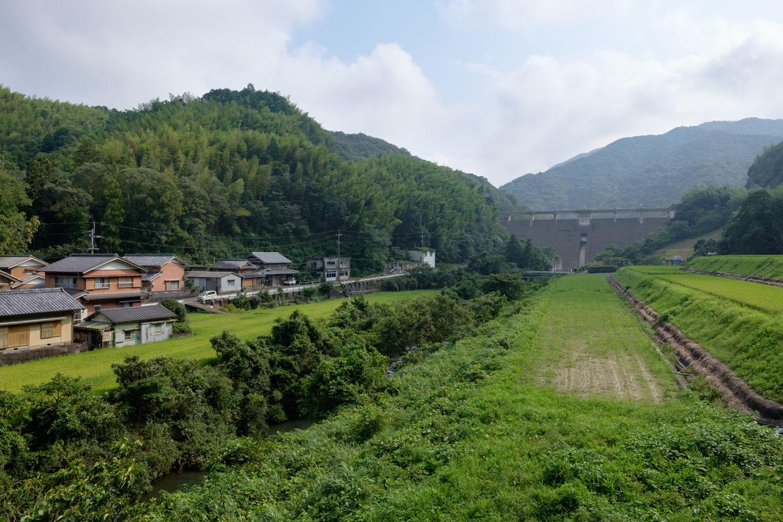 福井ダム。