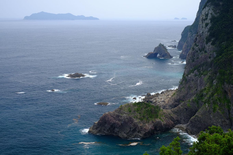 千羽海崖。