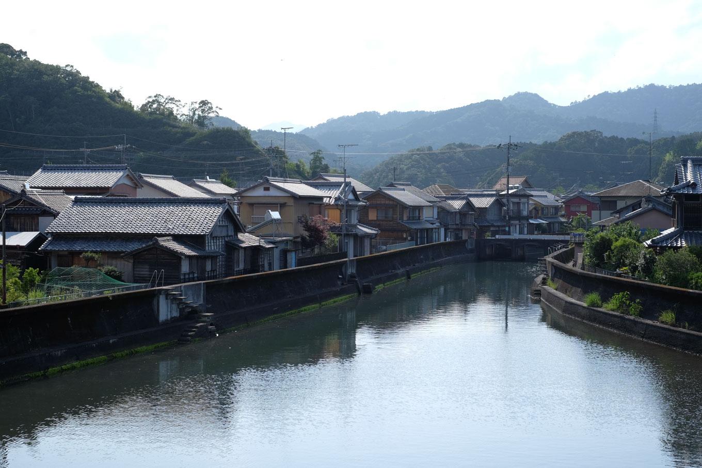 浅川集落。